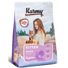Карми (Karmy®) д/КОТЯТ Сухой KITTEN индейка 400 гр