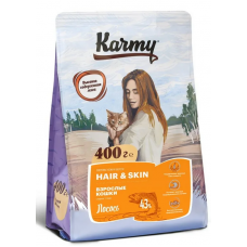 Карми (Karmy®) д/кошек SENSITIVE чувств. пищевар. Индейка 400 гр