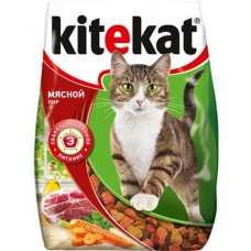 Китекет (Kitekat®) д/кошек Сухой 350 гр Мясной Пир
