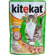 Китекет (Kitekat®) д/кошек пауч 85 гр Соус/Курица