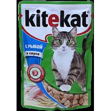Китекет (Kitekat®) д/кошек пауч 85 гр Соус/Рыба