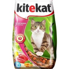 Китекет (Kitekat®) д/кошек Сухой 350 гр Телятина