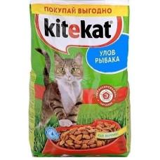 Китекет (Kitekat®) д/кошек Сухой 350 гр Улов Рыбака