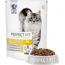 Перфект фит (Perfect Fit®) д/ Кошек с чувствит. пищев. 190 гр Индейка