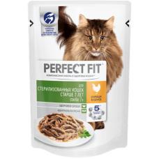 Перфект фит (Perfect Fit®) д/ Кошек старше 7 лет  Пауч 85 гр Курица