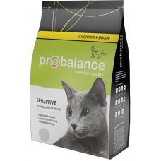 ПроБаланс (ProBalance®) д/кошек Сухой 400 гр м/у с Чувств. пищевар. Курица/Рис