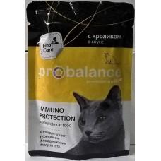 ПроБаланс (ProBalance®) д/кошек пауч 85 гр  Кролик