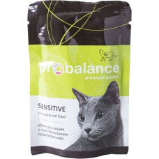 ПроБаланс (ProBalance®) д/кошек с чувствит. пищевар. пауч 85 гр