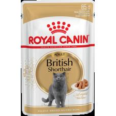 Роял Канин (Royal Canin®) д/ кошек ПАУЧ 85 гр  Британская (BRITISH Shorthair)