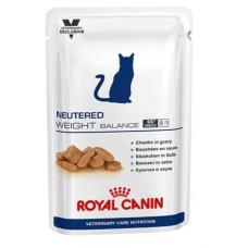Роял Канин (Royal Canin®) ветеринарная (Veterinary) д/ кошек ПАУЧ 100 гр Ньютрид Вэйт Баланс (NEUTERED WEIGHT BALANCE)