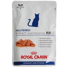 Роял Канин (Royal Canin®) ветеринарная (Veterinary) д/ кошек ПАУЧ 85 гр Ньютрид Эдалт Мэйнтенэнс (NEUTERED ADULT MAINTENANCE)