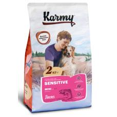 Карми (Karmy®) д/Собак мини  MINI SENSITIVE чувств. пищевар. лосось  2 КГ