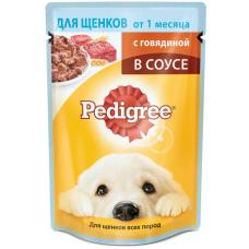 Педигри (Pedigree ®) д/ ЩЕНКОВ пауч 85 гр Говядина