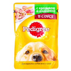 Педигри (Pedigree ®) д/ собак пауч 100 гр Кролик / Индейка