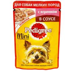 Педигри (Pedigree ®) д/ собак МИНИ пауч 85 гр Ягнёнок
