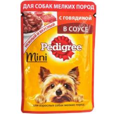 Педигри (Pedigree ®) д/ собак МИНИ пауч 85 гр Говядина