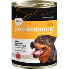 ПроБаланс (ProBalance®) д/собак ж/б 850 гр Говядина