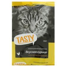 Тэсти (TASTY®) д/кошек Сухой 350 гр Курица