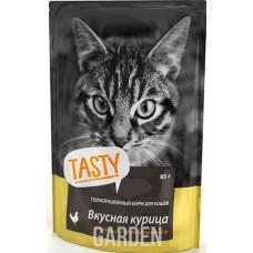 Тэсти (TASTY®) д/кошек пауч 85 гр Курица