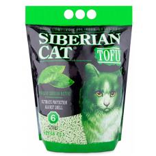 Наполнитель Сибирская Кошка Элита  Тофу Зелёный чай 6 л. биоразлагаемый/комкующ.